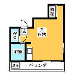 コーポ坂本[3階]の間取り