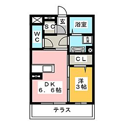 新築(仮称)D−room刈谷市南沖野町[1階]の間取り