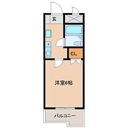 プチメゾン塚口[5階]の間取り