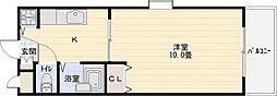 ハイツブリックス[3階]の間取り