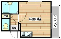 アニバーサリー[1階]の間取り