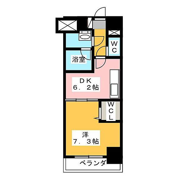 MY COSMOS[8階]の間取り