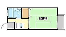 リバーサイド広畑[N-203号室]の間取り