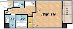 ウエンズ阿波座西[11階]の間取り