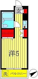 AK−2ビル[602号室]の間取り