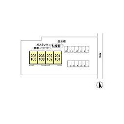 仮)D-room軽井沢[2階]の外観