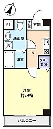 ラ・スカーラ[1階]の間取り