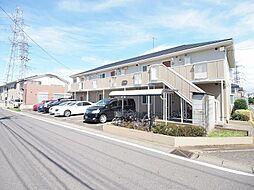 埼玉県川越市四都野台の賃貸アパートの外観