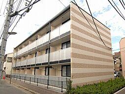 東京都墨田区八広6丁目の賃貸マンションの外観