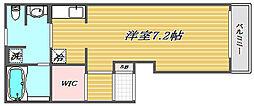 埼玉県さいたま市浦和区上木崎3丁目の賃貸アパートの間取り