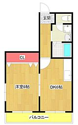 Lilac PartIII[4階]の間取り