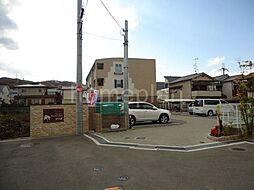 大阪府交野市星田7丁目の賃貸アパートの外観