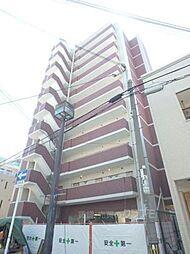 大阪府大阪市東住吉区田辺1丁目の賃貸マンションの外観