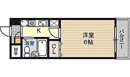 エスリード福島第2[8階]の間取り