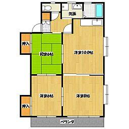 ニューエイジマンション[101号室号室]の間取り