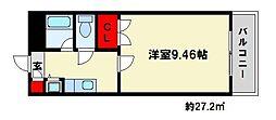 エルパラシオ[6階]の間取り