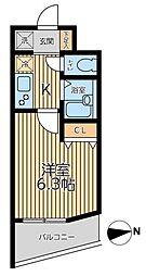 S-FORT茅ヶ崎[502号室]の間取り