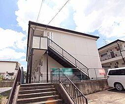 京都府八幡市男山金振の賃貸アパートの外観