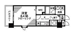 レオ参拾八番館[2階]の間取り