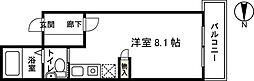 カーサ120[2階]の間取り