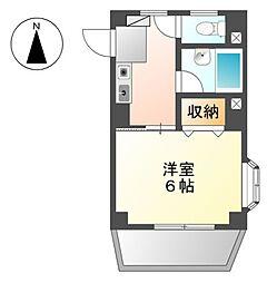 愛知県名古屋市中川区露橋1丁目の賃貸マンションの間取り