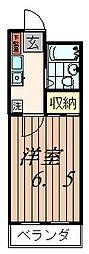 セイハイツII[3階]の間取り