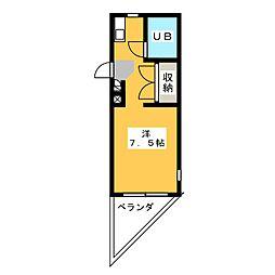 ESPACE A[1階]の間取り
