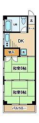 金龍堂ビル[2階]の間取り