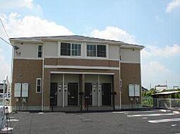 愛知県小牧市下小針天神2丁目の賃貸アパートの外観