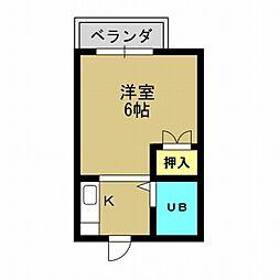 大阪府大阪市此花区梅香3丁目の賃貸マンションの間取り