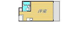 東京都世田谷区奥沢5丁目の賃貸マンションの間取り