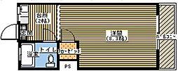コーポふる里B[225号室]の間取り