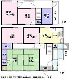 [一戸建] 滋賀県彦根市原町 の賃貸【/】の間取り