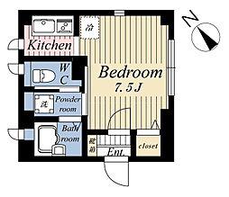 (仮称)東池袋2丁目マンション[4階]の間取り