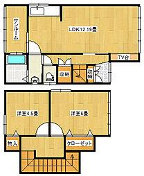 [一戸建] 新潟県新潟市東区大形本町1丁目 の賃貸【/】の間取り