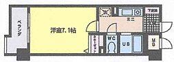 福岡県北九州市小倉北区鍛冶町2丁目の賃貸マンションの間取り