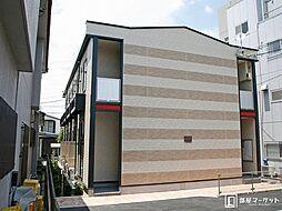愛知県豊田市竹生町3丁目の賃貸アパートの外観
