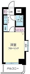 東京都墨田区本所4丁目の賃貸マンションの間取り