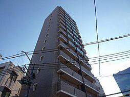 レジュールアッシュ大阪城北[3階]の外観