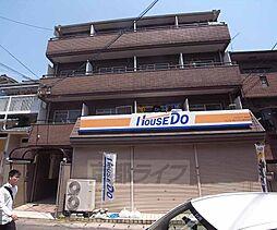 京都府京都市右京区太秦垂箕山町の賃貸マンションの外観