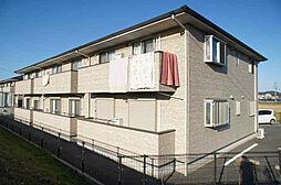 福岡県福津市宮司2丁目の賃貸アパートの外観