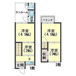 奈良線 城陽駅 徒歩12分