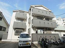千葉県松戸市八ケ崎7の賃貸アパートの外観