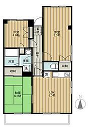 埼玉県さいたま市西区大字佐知川の賃貸マンションの間取り
