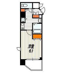 プレサンス京都五条大橋レジェンド[4階]の間取り
