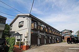 東京都東久留米市下里7丁目の賃貸アパートの外観