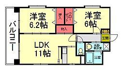 第28川崎ビル[2階]の間取り