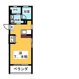 STEEDIII[3階]の間取り