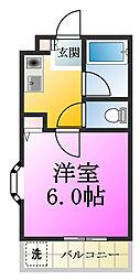サクセス[2階]の間取り