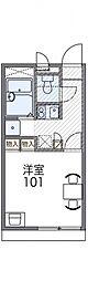 レオパレスイン京都[205号室号室]の間取り